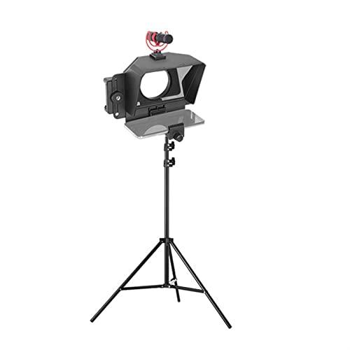 Programas De Video Portátiles Teleprompter, Teléfono Móvil Dslr Dispositivo De Inscripción De Cámara Pequeños Telepromptores Portátiles, For YouTube Tiktok Facebook Video En Vivo ( Color : G )