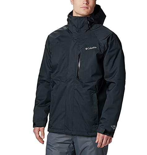 Columbia Chaqueta de Hombre,Alpine Action Waterproof, Negro, M