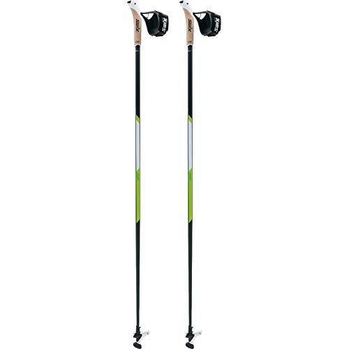 Swix CT4 Nordic Walking Stock Lime Carbon Tech mit Twist & Go Spitze 1 Paar 115cm