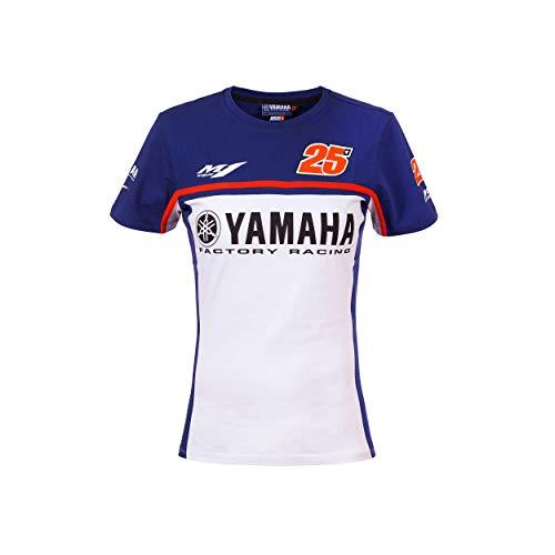 VR46 Yamaha Vinales Camiseta, Mujer, Multicolor, M