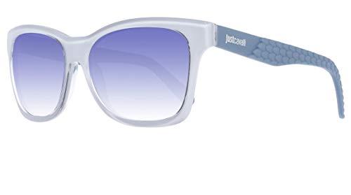 Just Cavalli Sonnenbrille JC649S 21W Gafas de sol, Blanco (Weiß), 54 para Mujer