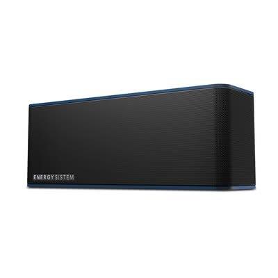 Energy Sistem Music Box 7 - Altavoz portátil (Bluetooth 4.1, 20 W, manos libres, audio-in y batería recargable) Negro/Azul