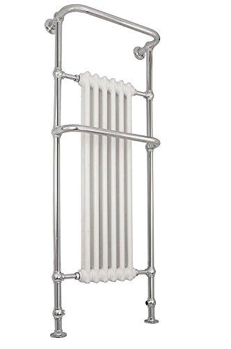 Global Design Concepts Tradizionale vittoriano Scaldasalviette radiatore - Chrome 1520 x 576 mm – 6 sezione