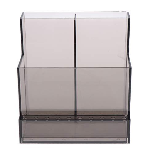 Hellery Caja Eléctrica Duradera de La Caja Del Organizador Del Archivo Del Tenedor Del Pulidor de La Máquina Del Taladro Del Clavo - Negro