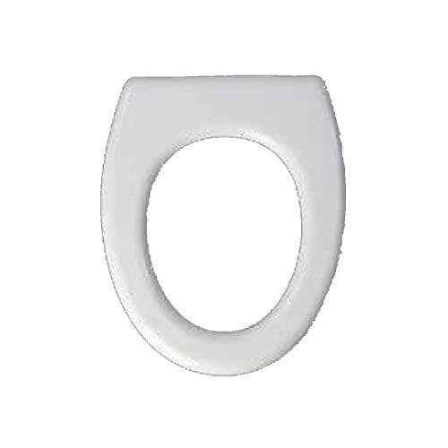 Copriwater dedicato per Serie Venice RAK in Resina Poliestere colata Bianco Lucido - Coperchio Sedile tavoletta per WC - Massima qualita' Garantita