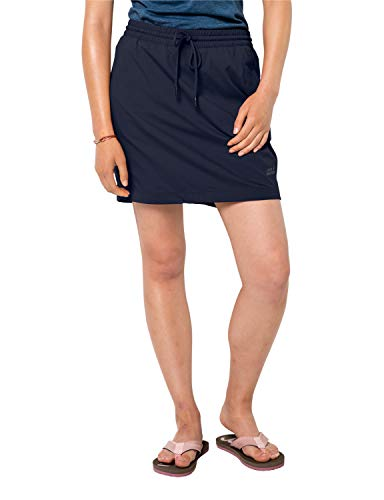 Jack Wolfskin Damen Desert Skort Rock, Midnight Blue, S