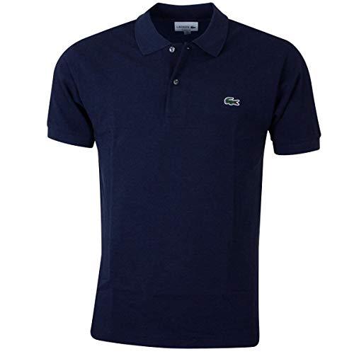 Lacoste L1264 Herren Polo Shirt Kurzarm,Männer Polo-Hemd,2 Knopf,Regular Fit,Lilium Chine(9N0),Medium (4)