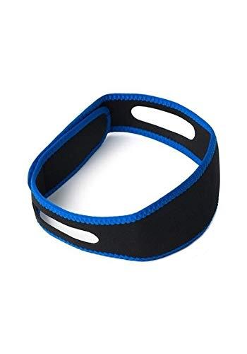 GGYSSY Dejar de roncar Correas de la Barbilla Ajustable con Velcro y Dispositivo Banda cómodo mandíbula Correa de Soporte para Hombres y Mujeres