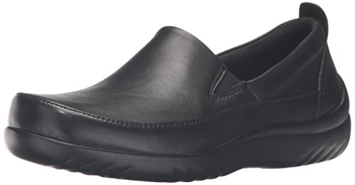 Klogs Footwear Women's Ashbury Arch Support, Black Smooth, 8.5 M US