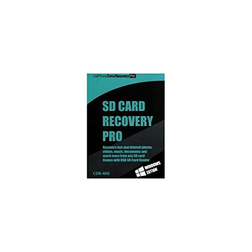 Mini-Gadgets SDCardRecoveryPro SD Card Memory Data Recovery Pro