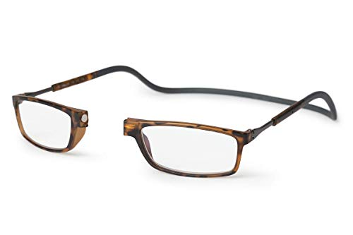 SPORTS WORLD VISION'sLunettes de lecture magnétiques Slastic Clic Style, Doku 006 Lunettes de lunettes solides...