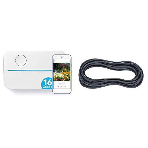 Rachio 3 Smart Sprinkler Controller, 16 Zone 3rd Generation, Alexa and Apple HomeKit Compatible with...