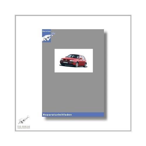 VW Golf III, Typ 1H (91-01) Karosserie-Instandsetzung - Reparaturleitfaden [Seitenzahl: 189]