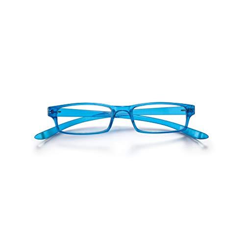 CORONATION Innova Gafas de Lectura Presbicia Vista Cansada (Hombre-Mujer-Unisex) Graduadas (+2.00) para Leer y Ver de Cerca, Azul