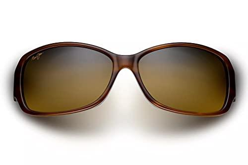 Maui Jim Women's Nalani w/Patented PolarizedPlus2 Lenses Cat-Eye Sunglasses, Tort/White And Blue/HCL Bronze Polarized, Medium + 0