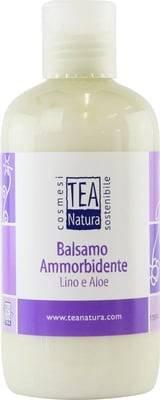 TEA NATURA Baume Capillaire à l'Huile de Lin & Aloe - Soin éclat pour les cheveux secs et abîmés - Adoucit les cheveux - Donner du volume - Renforce & nourrit - 250 ml