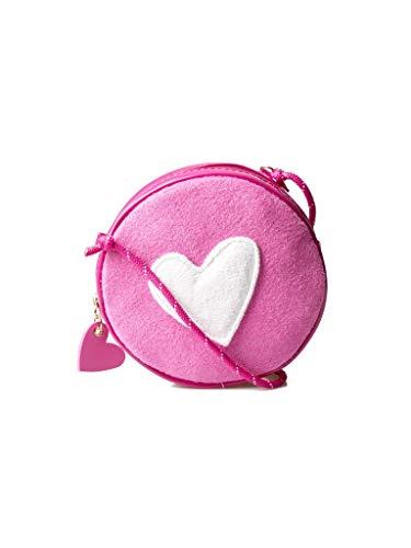 Agatha Ruiz de la Prada Bandolera Bolso Redondo Infantil Chic rosa con corazón