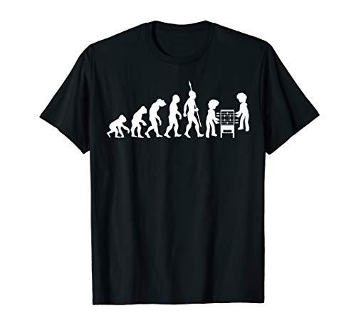 Tischfußball Tischkicker Kickertisch Fußball Evolution Cool T-Shirt