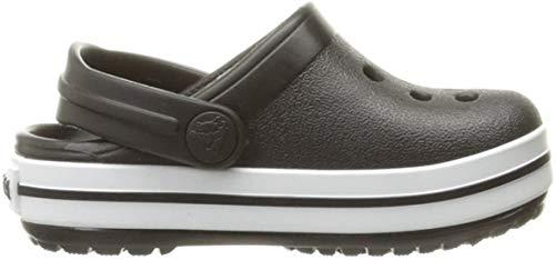 crocs Unisex-Kinder Crocband K Clogs, Black, 30/31 EU