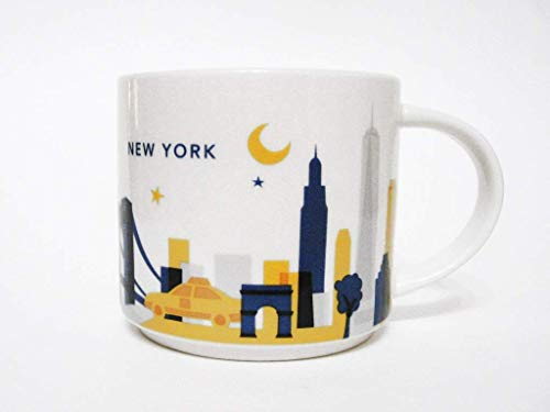 Starbucks New York City Kaffeebecher You Are Here Collection, mit original Starbucks Box