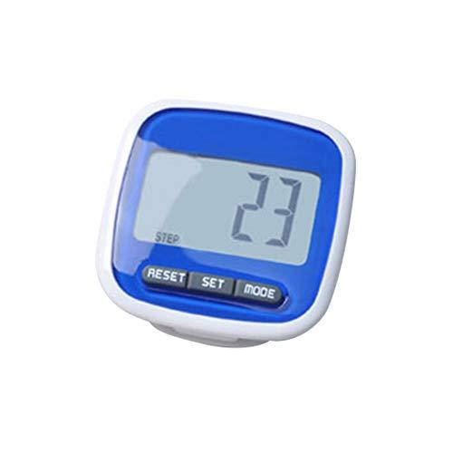 Star Supermarket nauwkeurige stappenteller met clip elektronische stappenteller lichte sport joggen fitness tracker stappenteller grote stappenteller multifunctioneel calorieverbruik stappenteller