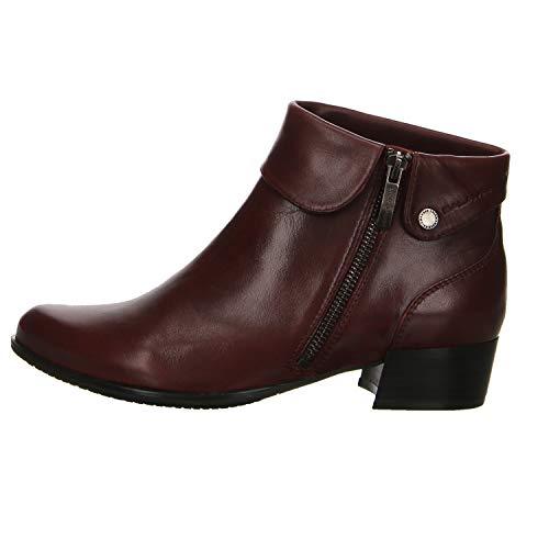 Salamander Damen Satara Boots Stiefelette Größe 39 EU Rot (Bordeaux)