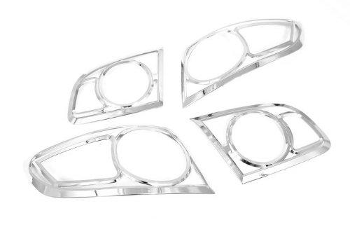 Autochrome ZV_H2370 - Embellecedor para faros traseros (cromado)