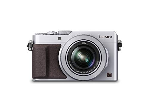 Panasonic LUMIX DMC-LX100EGS Premium Digitalkamera (12,8 Megapixel, 24-75 mm Leica DC Vario Summilux Objektiv, 4K, elektr. Sucher) silber