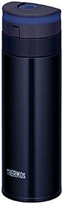 サーモス 水筒 真空断熱ケータイマグ 【ワンタッチオープンタイプ】 350ml ブラック JNS-350 BK