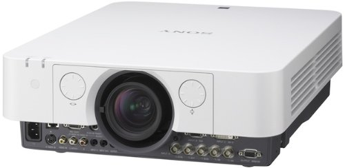 Sony VPLFX35 Beamer 5000 ANSI Lumen LCD XGA (1024 x 768) grijs, wit - Beamer (5000 ANSI Lumen, LCD, XGA (1024 x 76), 2000:1, 1016 - 15240 mm (40 - 600 inch), 1,02 - 15,24 m)