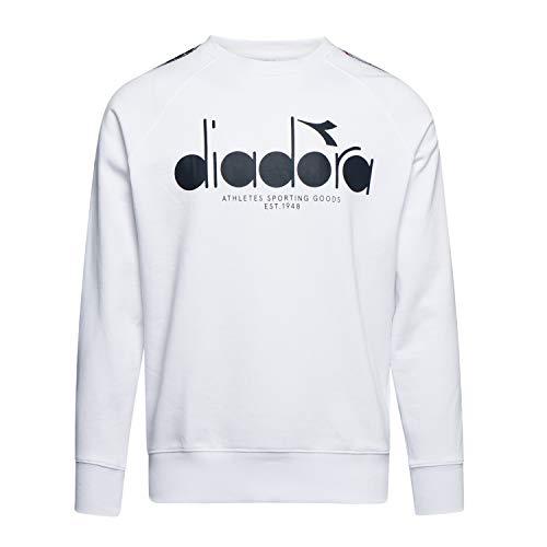 Diadora - Felpa Sweatshirt Crew 5PALLE Offside per Uomo (EU XL)