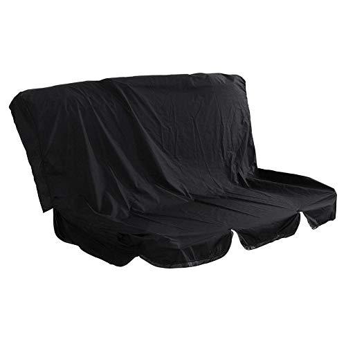 Schutzhülle für Hollywoodschaukel Schaukelsitz 3 Sitzer Schaukel Sitzbezug Abdeckung Wasserdicht Gartenschaukel Abdeckplane-150cmx150cmx10cm