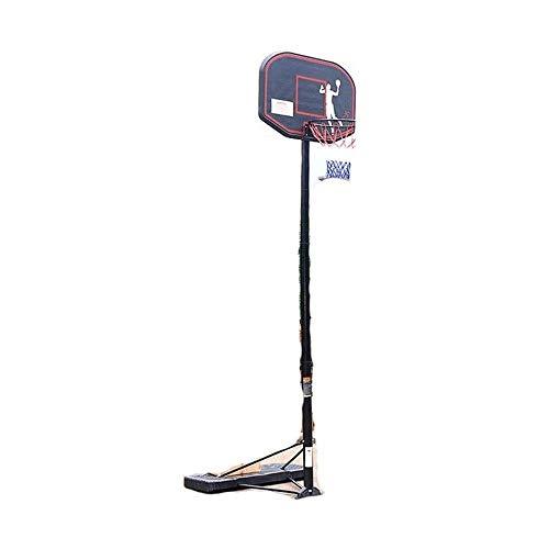 ZAIHW Exterior del aro de Baloncesto con Tablero de Baloncesto Soporte Interior for niños Caja de Baloncesto Juvenil Inicio