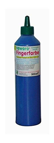 Unbekannt ökoNORM nawaro Fingerfarbe blau, 750g