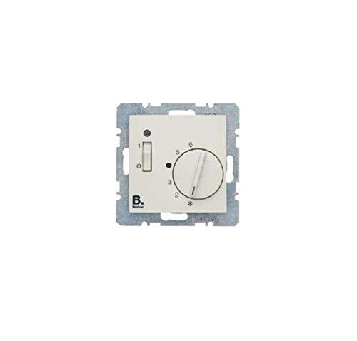 Hager 20301909 - Elektroschalter (Rotary switch, Weiß, 250 V, 50-60 Hz)