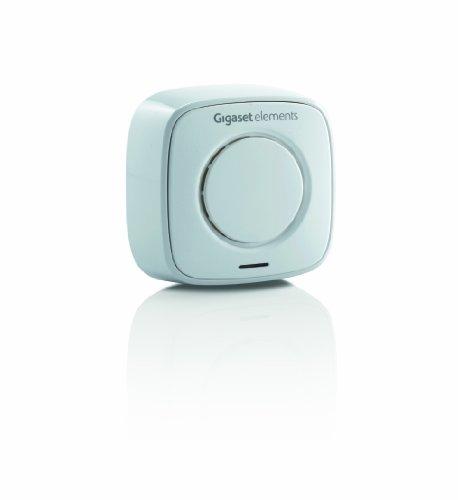 Gigaset Set-Ergänzung Alarm-Sirene (geeignet für Wohnung Haus Büro, 100db Lautstärke, mit kostenfreier App, Smart Home Sirene)