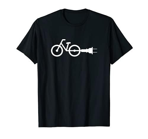 Ebike T-shirt de vélo électrique humoristique T-Shirt