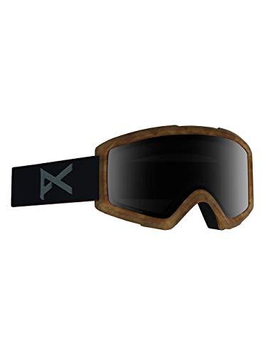 Anon Helix 2 Sonar with Spare Masque de Snowboard pour Hommes, Tort/Sonarsmoke