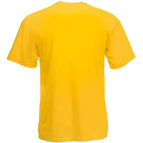 Fruit of the Loom Herren T-Shirt Original T 61-082-0 Sunflower M