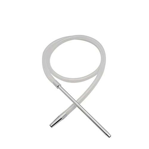 LUFA 1.8M Shisha Shisha Schlauch mit Aluminium Vorbau Silikon-Schlauch Shisha Shisha Schlauch Moderne Pfeife