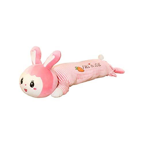 Pkfinrd konijn pluche speelgoed schattig slapen hok kussen pop bed super zachte doek pop