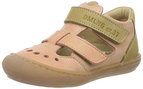 Däumling Baby Mädchen Sven Sandalen, Pink (Chalk Lachs 05), 24 EU