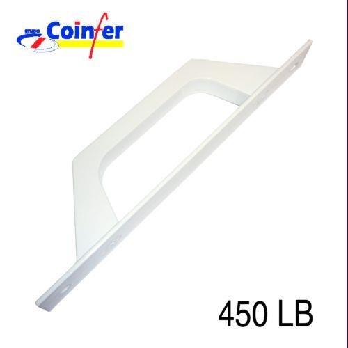 Tecnac - Asa Aluminio Puerta Corredera Blanco 450: Amazon.es: Bricolaje y herramientas