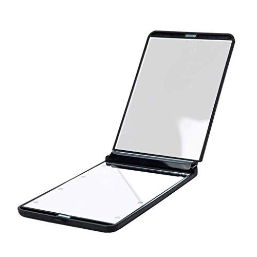 petit un compact ZKZK Miroir d'éclairage LED multi-gradation portable élégant, loupe…