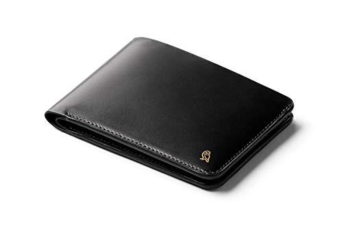 Bellroy Hide & Seek, Cartera de Piel Premium para Hombres- Designers Edition - Black