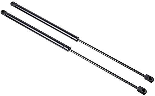 ZHAOOP, puntales de capó Delantero de Coche, Soporte de elevación, Ajuste de Varilla hidráulica de Choque, para Seat Leon MK3 5F 2012-2019-negro