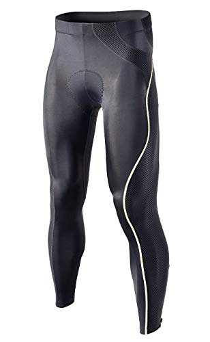 RION Men#039s Cycling Pants Bike Padded Bicycle Tights
