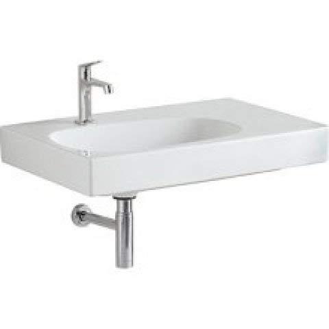 Keramag Citterio Waschtisch 500545011, ohne Überlauf, Ablagefläche rechts, 750x500mm, Weiss mit KeraTect