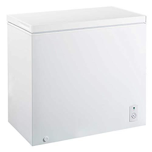FrigeluX - Congélateur Coffre CCO202BF - Classe Énergétique A+ - 31h d'Autonomie - Thermostat Mécanique - Format Compact - Pose Libre - 2 Pieds Réglables - 42 db - Garantie 1 an - Blanc
