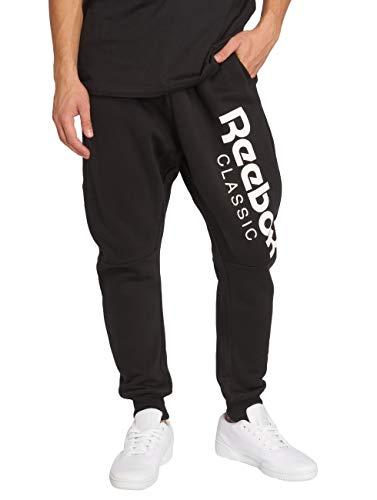 Reebok GP Jogger Pantalon pour Homme L Noir